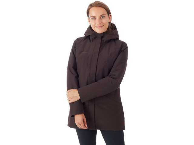 online store 769c6 d4bc5 Mammut Chamuera HS Thermo Hooded Parka Women deer